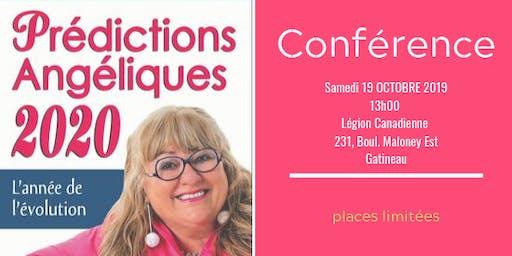 Conférence Prédictions Angéliques 2020
