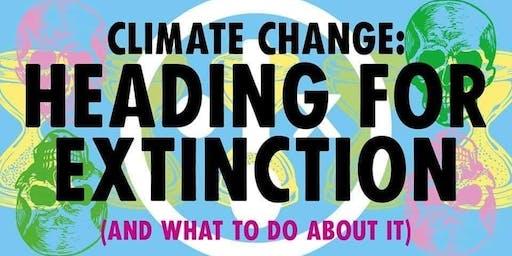 Extinction Rebellion Stoke Talk: Heading for Extinction