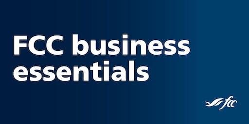 FCC Business Essentials - Chatham