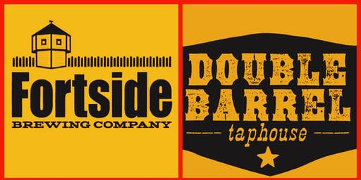 Double Barrel Taphouse and Fortside Brewing: Beer + Bbq dinner