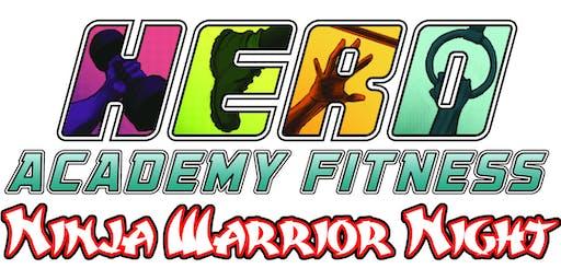 Hero Academy Ninja Warrior Night - November 9th