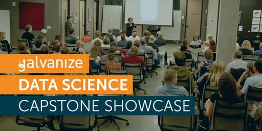 Galvanize Denver Data Science Capstone Showcase - g99
