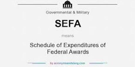 Overview and Practice - FY18 SEFA development workshop tickets
