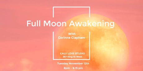 Full Moon Awakening  tickets