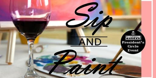 ARC President's Circle Event:  Sip & Paint
