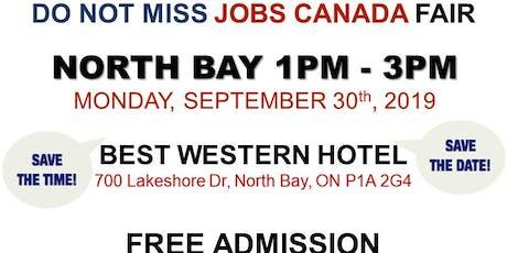 North Bay Job Fair – September 30th, 2019 tickets