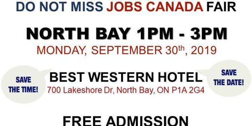 North Bay Job Fair – September 30th, 2019