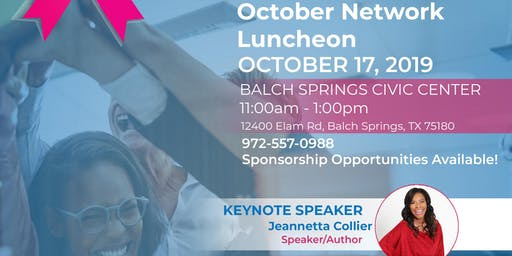 October Quarterly Luncheon