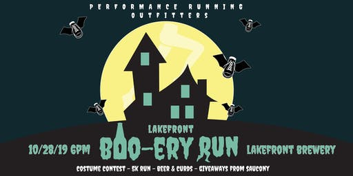 Lakefront Boo-Ery Costume Run with Saucony - 10/28