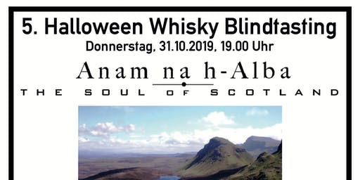Halloween Whisky Tasting - Genuss statt Grusel! Blind-Tasting mit Anam na h-Alba
