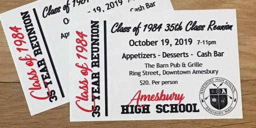 Amesbury High School Class of 84 Reunion