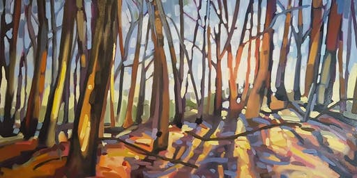Paint a Forest Scene with Michelle Reid