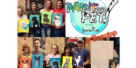 Paint Your Pet @ Brewtop tickets