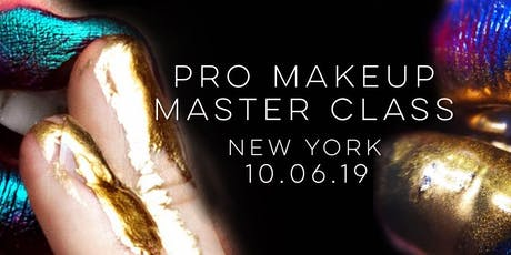 Professional Makeup Master Class tickets