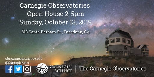 Carnegie Observatories Open House