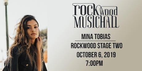 Mina Tobias tickets