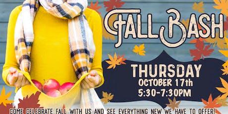 Fall Bash tickets