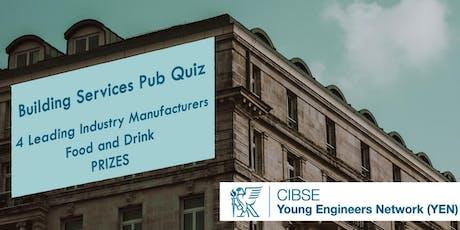 Building Services Pub Quiz tickets