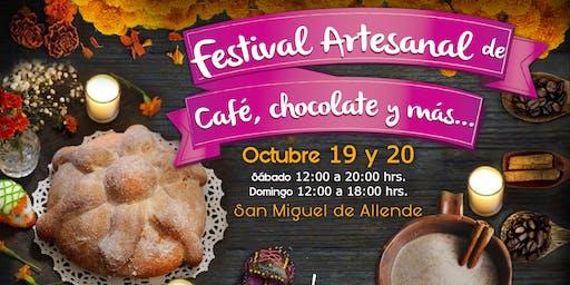 Festival Artesanal de Cafpe, Chocolate y más Edicion dia de muertos
