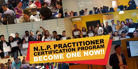 International NLP Practitioner Certification Program tickets