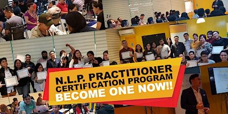 International NLP Practitioner Certification Program tickets