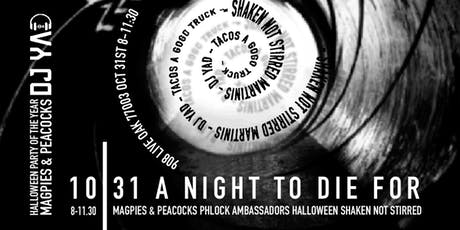 A Night To Die For tickets