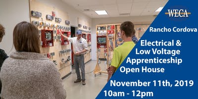 NorCal WECA Electrical and Low Voltage Apprenticeship Programs Tour November 2019