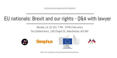EU nationals: Brexit and our rights - Q&A with lawyer tickets