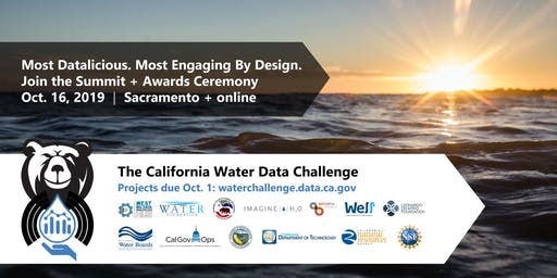 California Water Data Challenge Summit + Awards Ceremony 2019