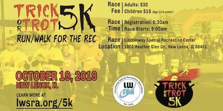 Heather Glen Trick or Trot 5k...Run/Walk for the Rec tickets