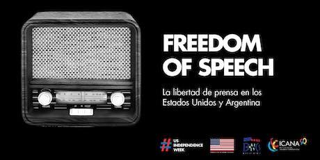#USIndependenceWeek - Freedom of Speech entradas