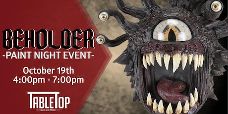 Beholder Paint Night Event tickets