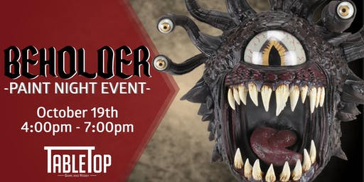 Beholder Paint Night Event