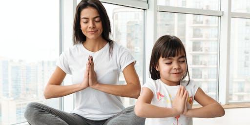 Plymouth Mom's Yoga Class