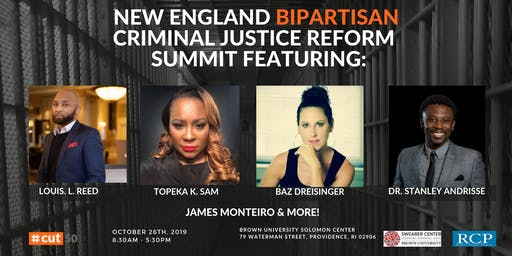 New England Bipartisan Summit on Criminal Justice Reform
