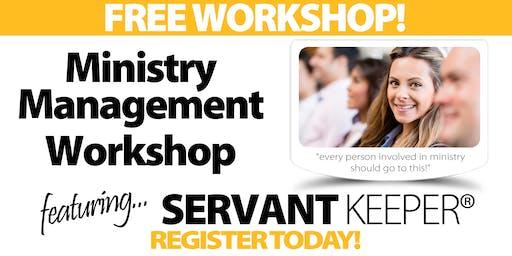 Sacramento - Ministry Management Workshop