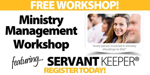 San Francisco - Ministry Management Workshop