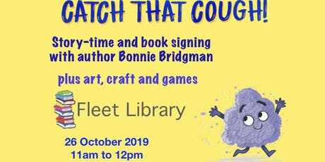 Catch That Cough: Story-time & Book Signing tickets