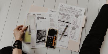 Make. Learn. Grow. | Preparing for Tax Season tickets