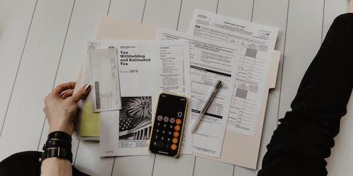 Make. Learn. Grow.   Preparing for Tax Season