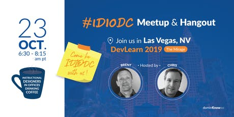 IDIODC Meetup & Hangout at DevLearn tickets