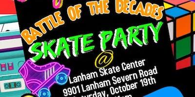 JoyJoy's Battle of the Decades Skate Party