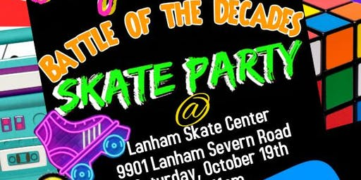JoyJoy's Battle of the Decades Skate Party
