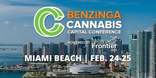 2020 Cannabis Capital Conference – Miami