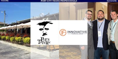 PCYP Hosted by Poes Tavern, Sponsored by Innovative Financial Group