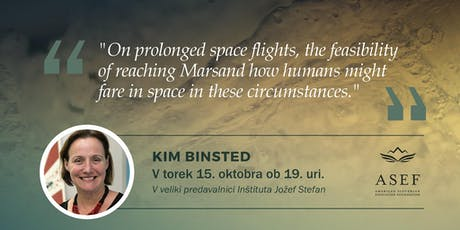 Dr. Kim Binsted: Reaching Mars & how humans might fare in space tickets