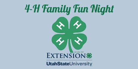 4-H Family Fun Night tickets