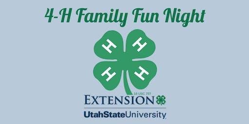 4-H Family Fun Night