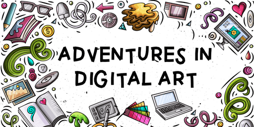 Adventures in Digital Art: After School Program (Ages 8-12)