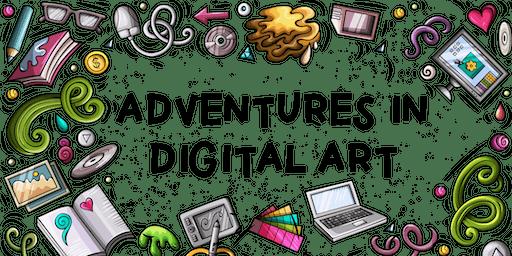 Adventures in Digital Art: After School Program (Ages 8-12)